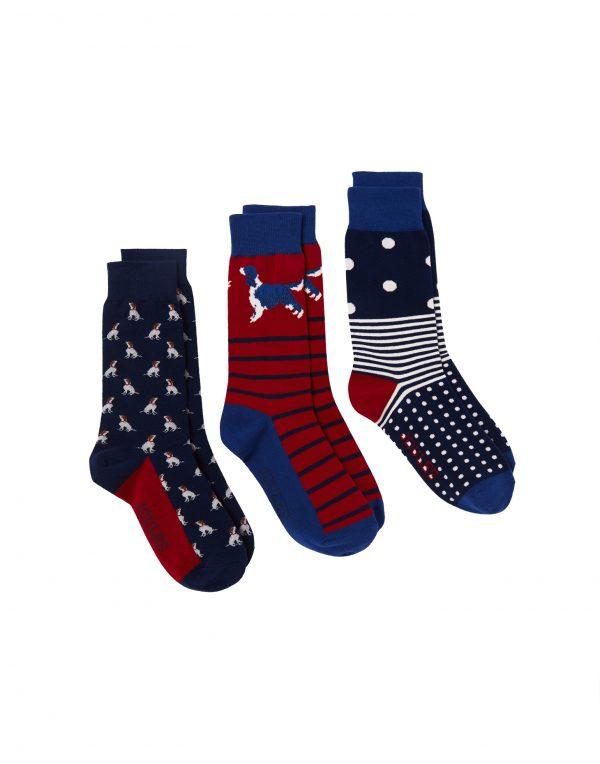 joules mens dog socks