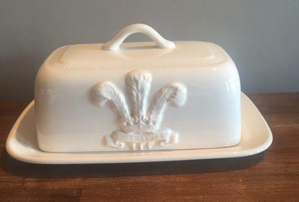 Hartley Greens Leeds Pottery Highgrove Hunslet Butter Dish-0