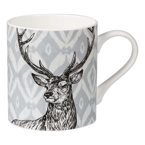 Queens Couture Stag Mug -0