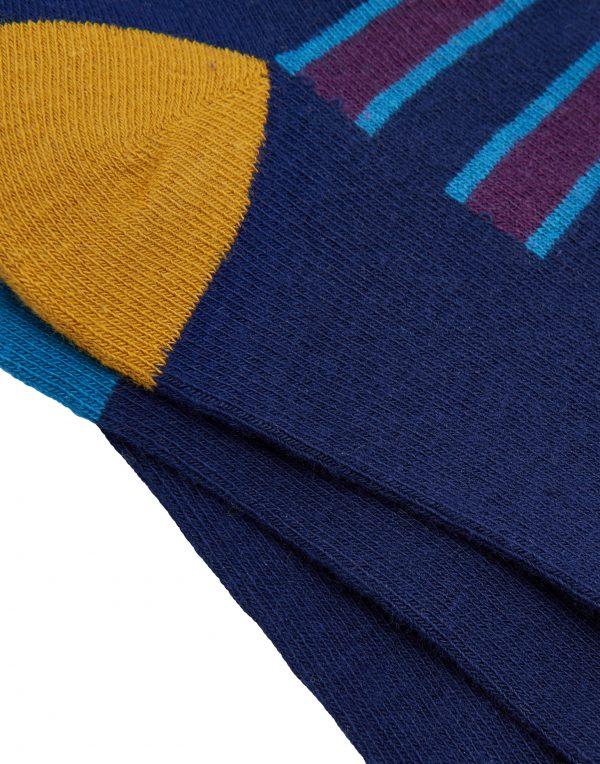 Joules Mens Striking Socks Game Animal, Pack of 3-2925