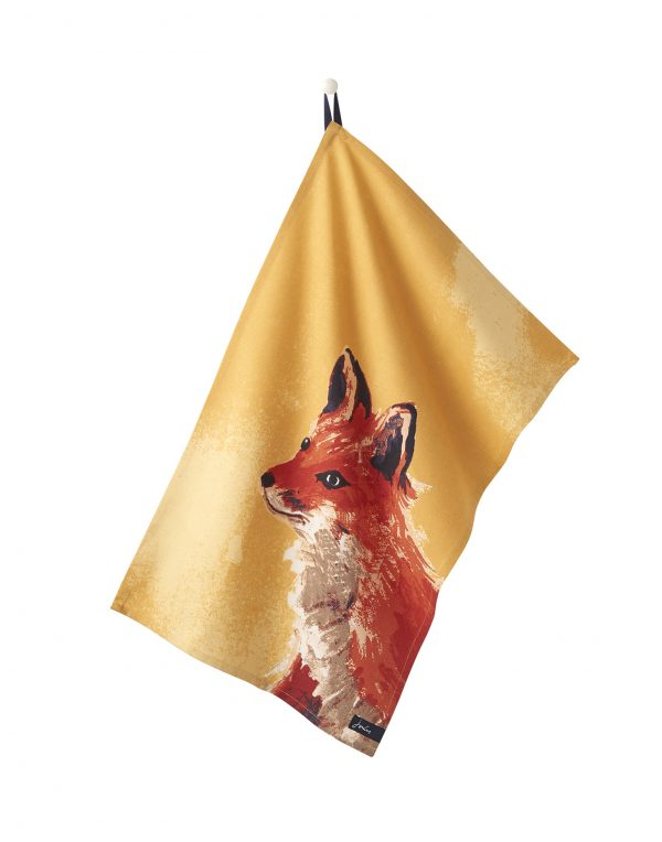 Joules Wild Thing Thea Set Of 2 Tea Towels - Fox & Pheasant-2898
