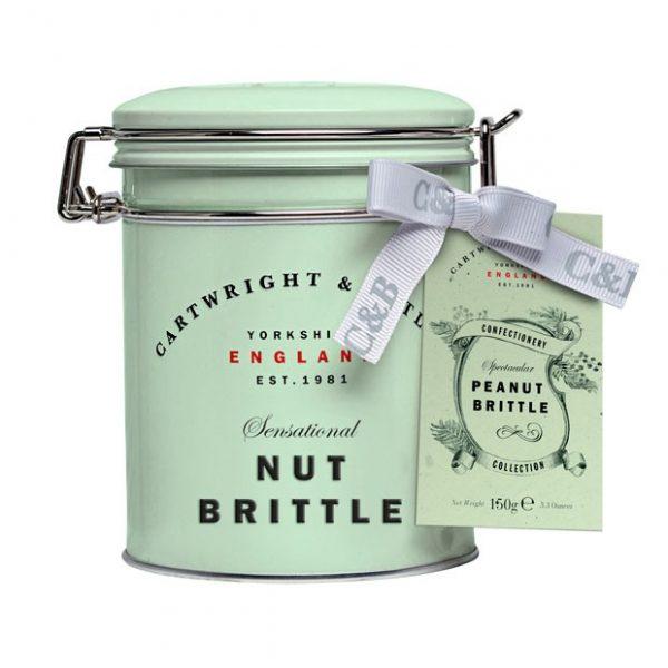 Cartwright & Butler Peanut Brittle In Tin -0