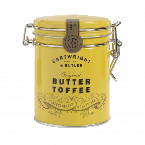 cartwright and butler toffee in tin