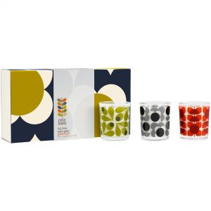 Orla Kiely Midnight Flower Candles Gift Set-0