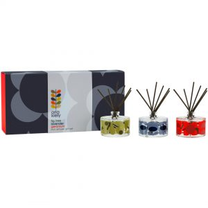 Orla Kiely Midnight Flower Diffuser Set -0