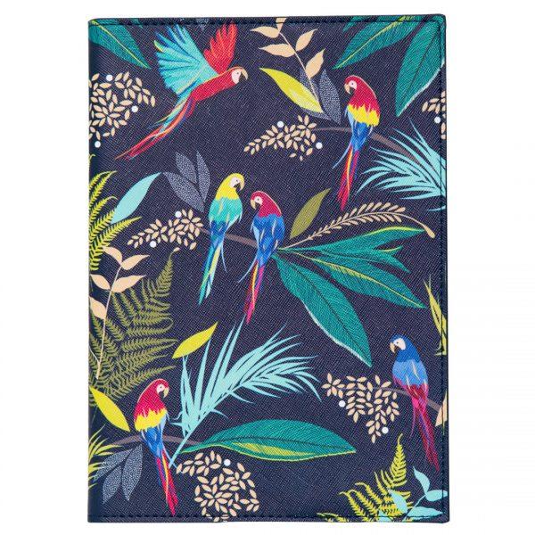 Sara Miller Parrot Fabric Journal-0