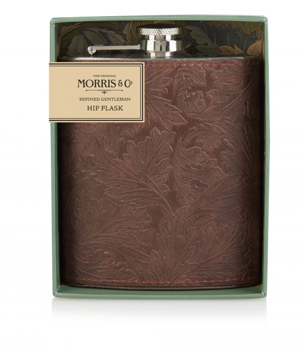 Morris & Co Refined Gentlemen Hip Flask -0