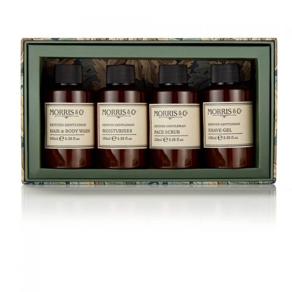 Morris & Co Refined Gentleman Travel Grooming Set-0