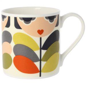 Orla Kiely Lady Stem Quite Big Mug -0