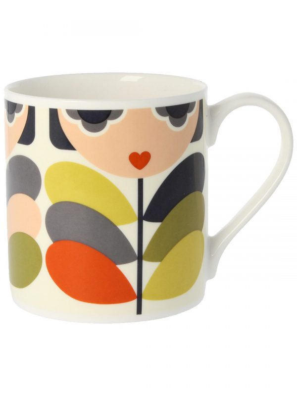 Orla Kiely Lady Stem Quite Big Mug -0