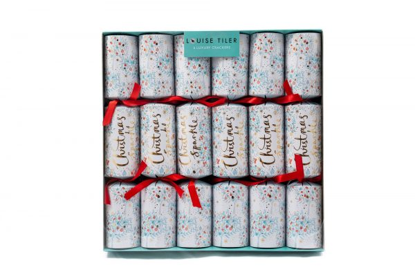 Louise Tiler Christmas Sparkle Luxury Christmas Crackers -3108