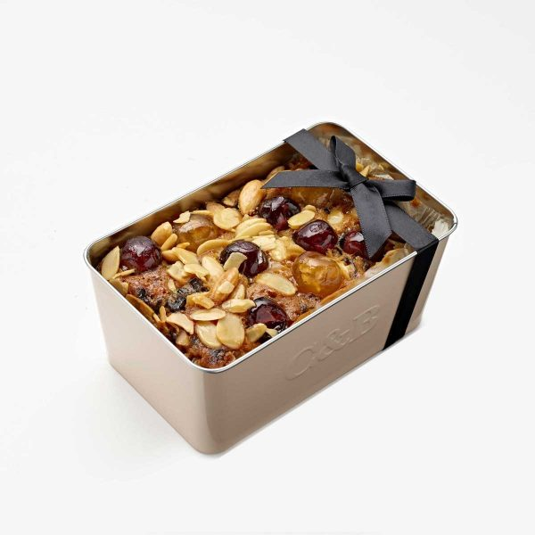 Cartwright & Butler Cherry & Almond Loaf Cake In Tin -0