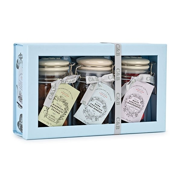 Cartwright & Butler Chocolate Confections Selection Trio Gift Box-0