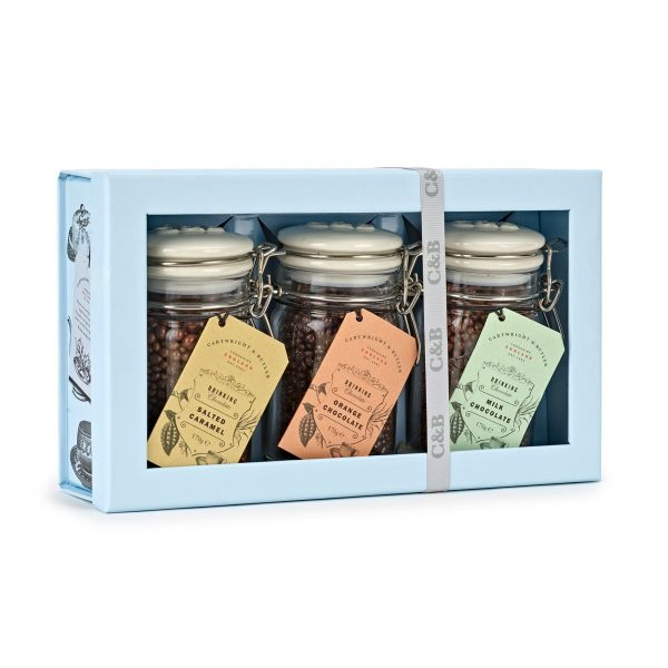 Cartwright & Butler Drinking Chocolate Selection in Trio Gift Box-0