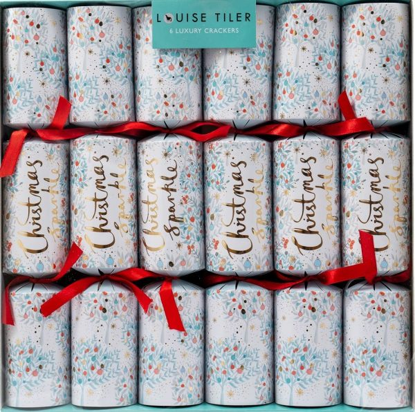 Louise Tiler Christmas Sparkle Luxury Christmas Crackers -0