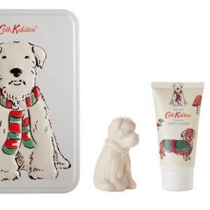 Cath Kidston Stanley Toiletry Gift Set - Body Wash, Body Lotion & Stanley Soap-0