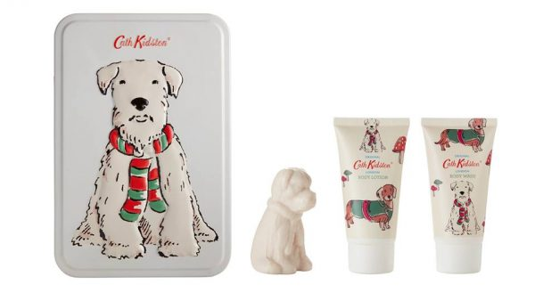 Cath Kidston Stanley Toiletry Gift Set - Body Wash, Body Lotion & Stanley Soap-0
