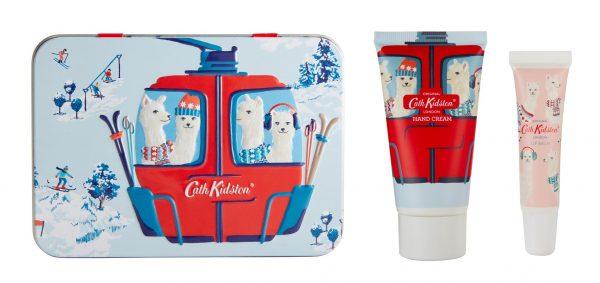 Cath Kidston Alpacas Hand & Lip Tin Gift Set-0