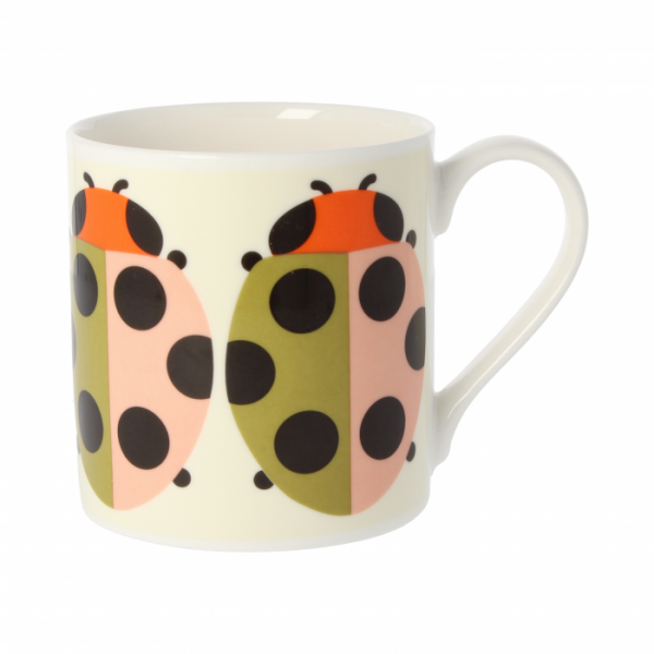 Orla Kiely Lady Bug Tomato Quite Big Mug-0