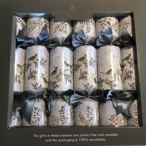 sara miller winter snow christmas crackers