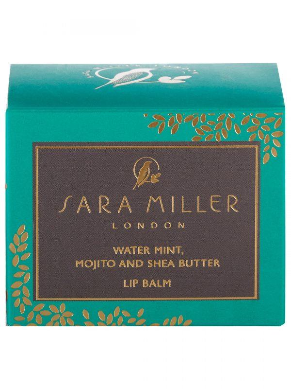 Sara Miller Water Mint, Mojito & Shea Butter Lip Balm, Green-0