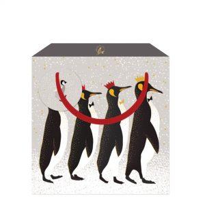 Sara Miller Penguins Medium Gift Bag-0