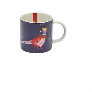 Joules Christmas Cuppa Festive Bird Mug Gift Boxed -0