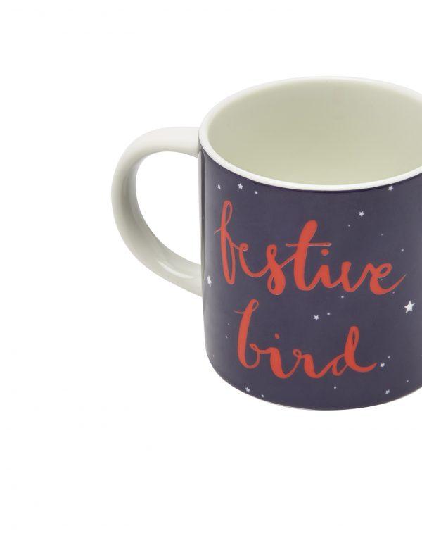 Joules Christmas Cuppa Festive Bird Mug Gift Boxed -3130
