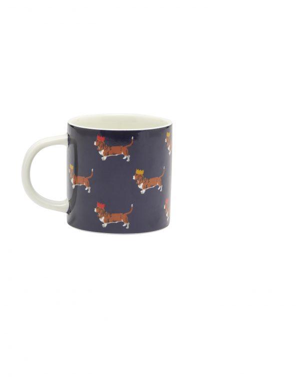 Joules Christmas Cuppa Festive Dog Mug Gift Boxed -0
