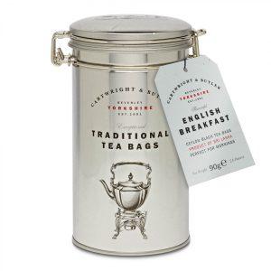 Cartwright & Butler English Breakfast Tea Bags In Caddy, Tin-0
