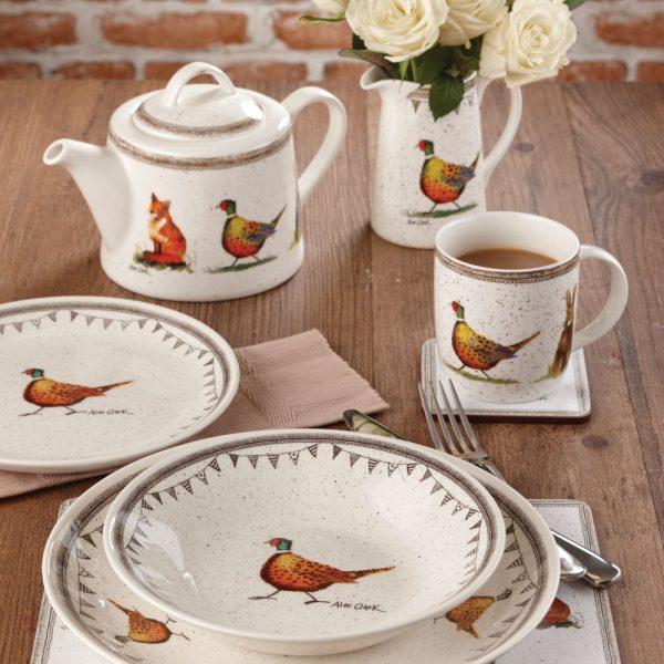 Alex Clark Wildlife Teapot-3224