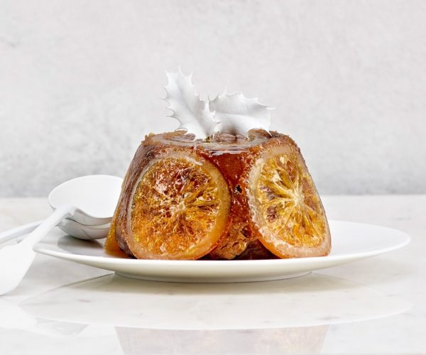 Cartwright & Butler Candied Orange Christmas Pudding In Tin-0