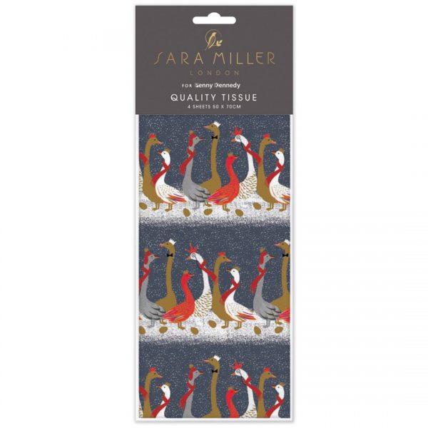 Sara Miller Geese Christmas Tissue Paper -0