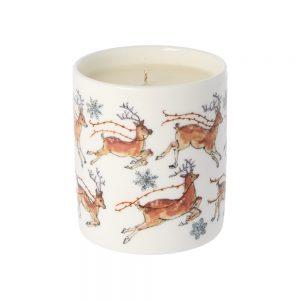 Madeleine Floyd Reindeer Candle, Fireside -0