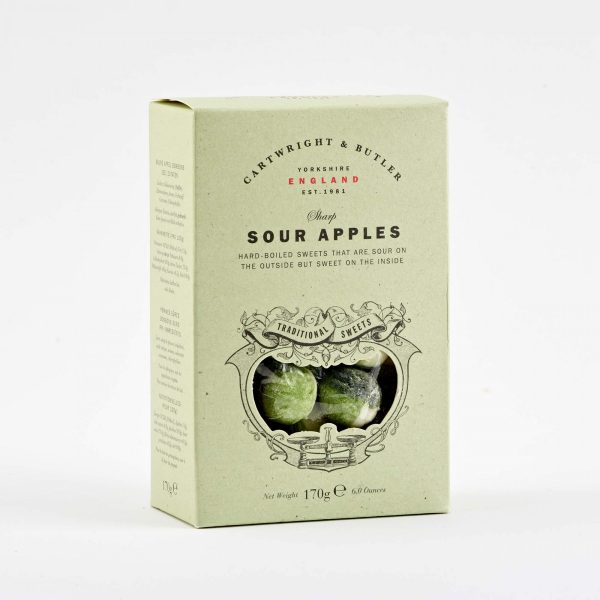 Cartwright & Butler Sour Apple Sweets In Carton-0