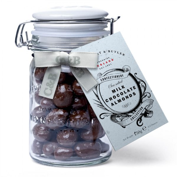 Cartwright & Butler Sea Salted Milk Chocolate Almonds-0
