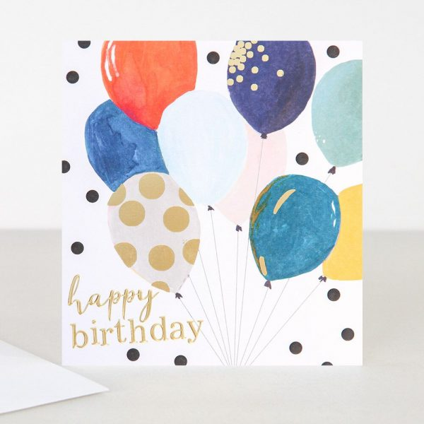 Caroline Gardner Bunch of Balloons Happy Birthday Card-0