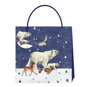Emma Bridgewater Winter Animals Medium Bag-0