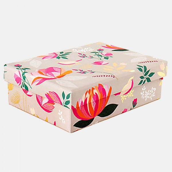 Sara Miller Peony Floral Small Gift Box-0