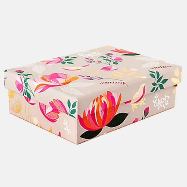 Sara Miller Peony Floral Small Gift Box-0