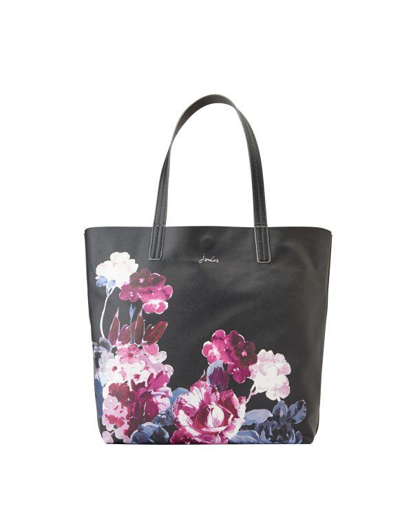 Joules Revery Floral Print Reversible Tote Bag-0