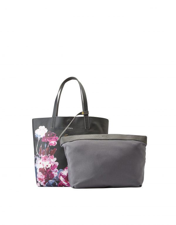 Joules Revery Floral Print Reversible Tote Bag-3274