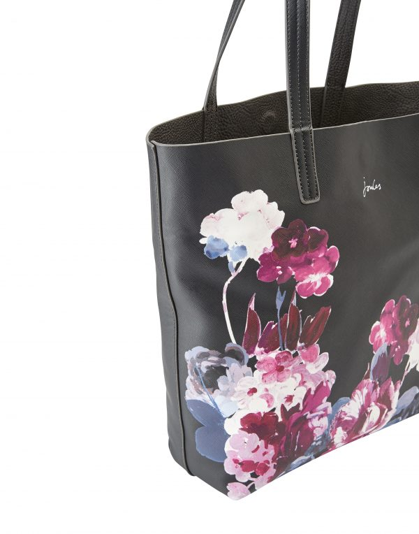 Joules Revery Floral Print Reversible Tote Bag-3276