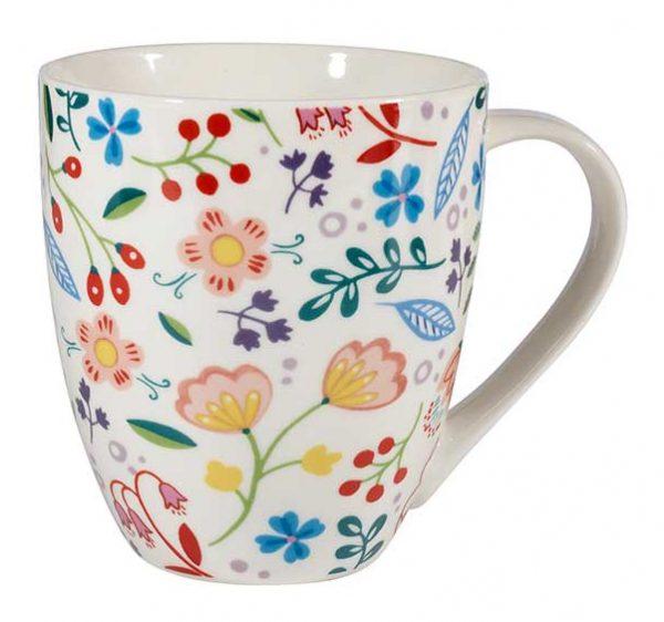 Spring Floral Crush Mug-0