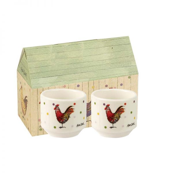 Alex Clark Rooster Stacking Egg Cups, Gift Boxed-0