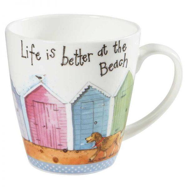 Alex Clark Life Is Better At The Beach Mug-0