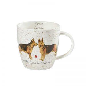 Alex Clark Gentle German Shepherds Dog Mug-0