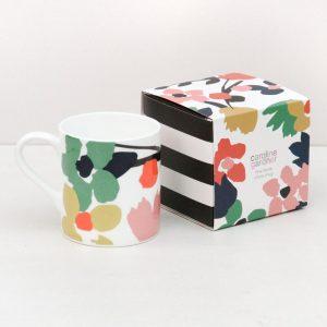 Caroline Gardner Floral Mug, Gift Boxed-0