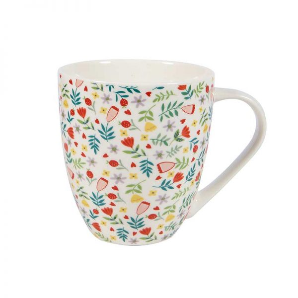 Floral Chintz Crush Mug -0