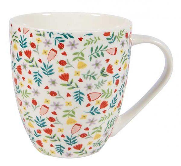 Floral Chintz Crush Mug -0